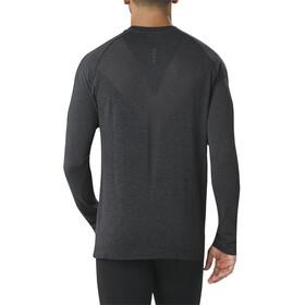 asics Seamless - Camiseta manga larga running Hombre - negro